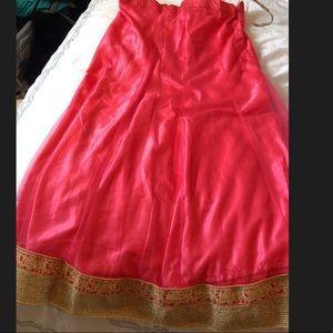 Dresses - Indian lehenga dress